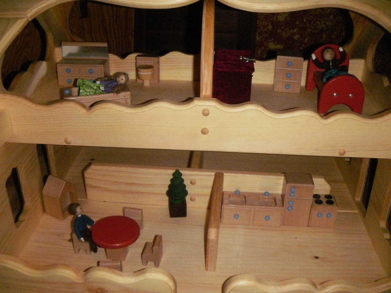 My Made In The Usa Dollhouse Eco Friendly Baby Family Products