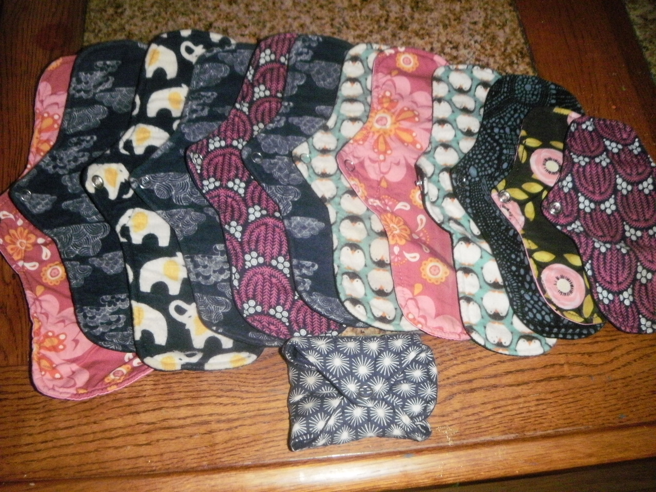 Reusable Mama Cloth Pad review: Party in my Pants!