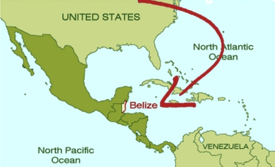 where-is-belize-located